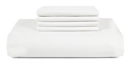JOARZ dekbedovertrek Pure White