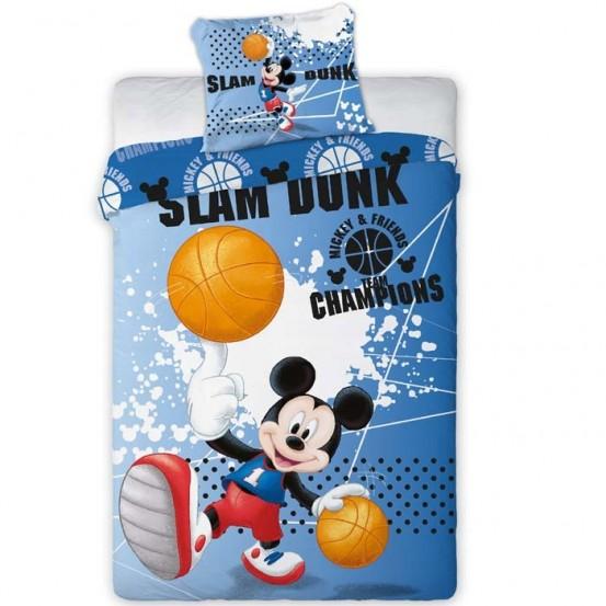 Mickey Mouse Dekbedovertrek Slam Dunk
