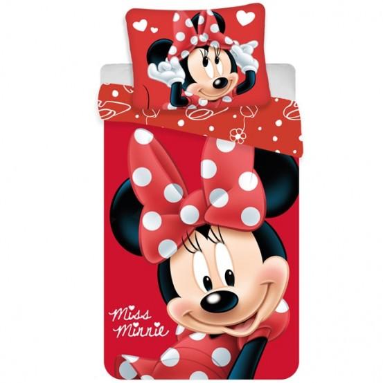Minnie Mouse Dekbedovertrek Red Dots