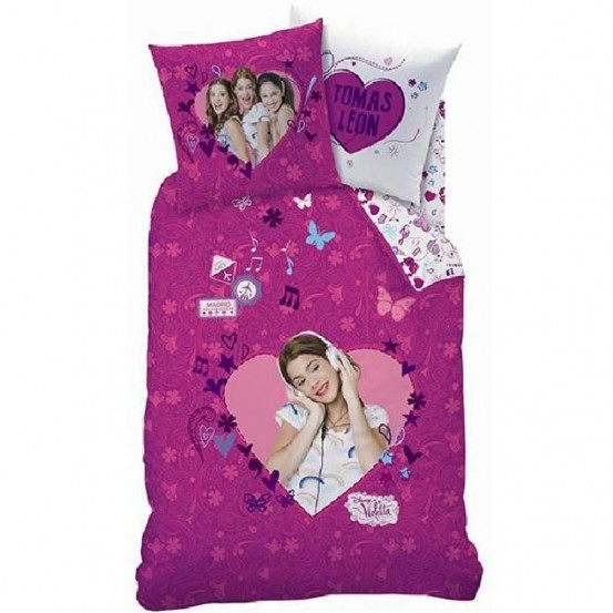 Disney Violetta Dekbedovertrek Madrid Multi