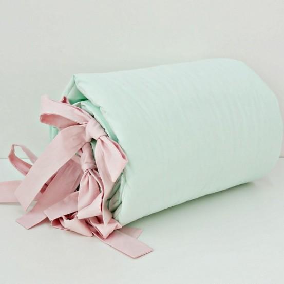 Dolly Hoofdbeschermer Mint-Roze