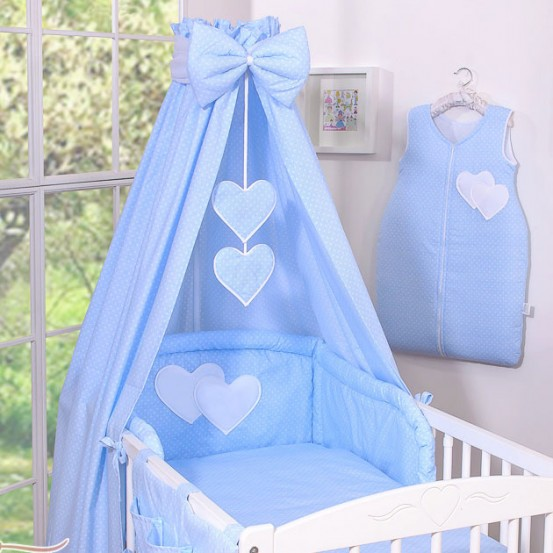 My Sweet Baby Hemel Katoen Dots Blauw