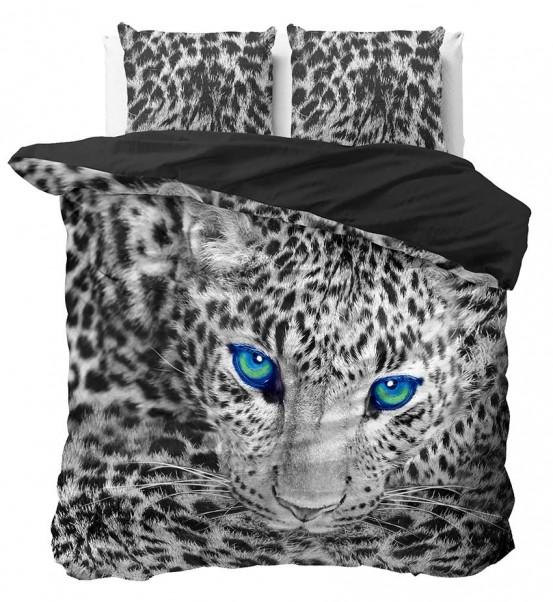 Dreamhouse Dekbedovertrek Cheetah Grey