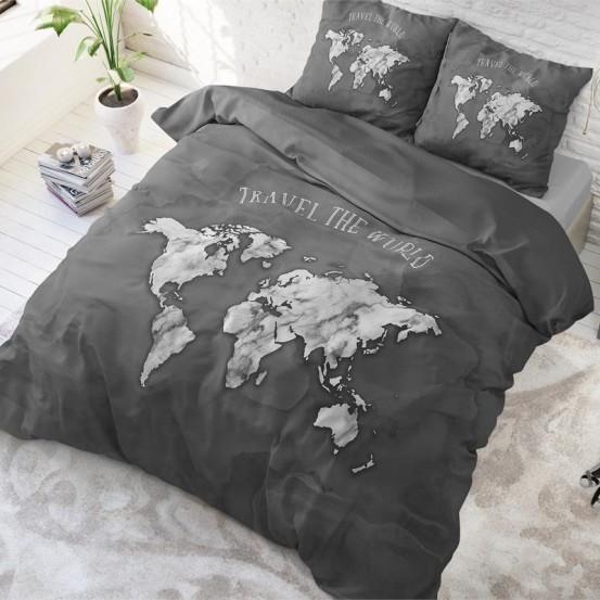 Dreamhouse Dekbedovertrek Marble World