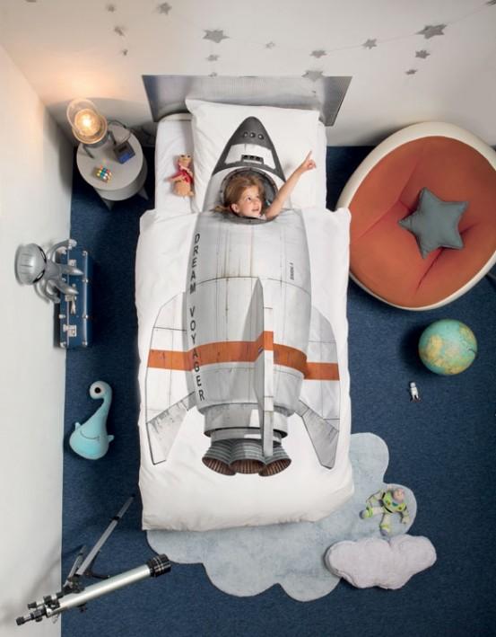 Snurk Dekbedovertrek Rocket