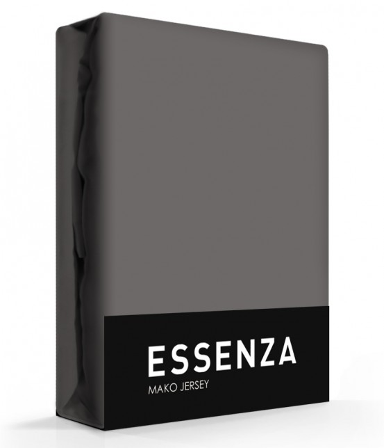 Essenza Mako Jersey Hoeslaken Steel Grey