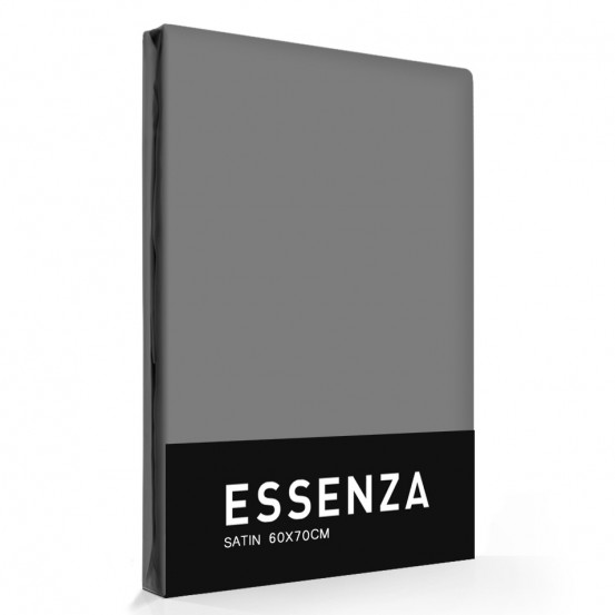 Essenza Kussensloop Satin Steel Grey (1 stuk)