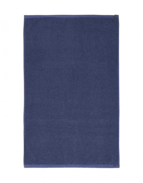 Essenza Badmat Connect Organic Uni Blauw 60 x 100 cm