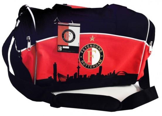 Sporttas Feyenoord Zwart/Rood Skyline