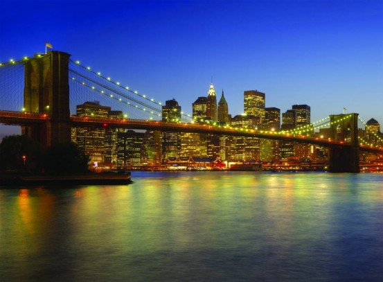 Brooklyn Bridge Fotobehang (Wallpaper)