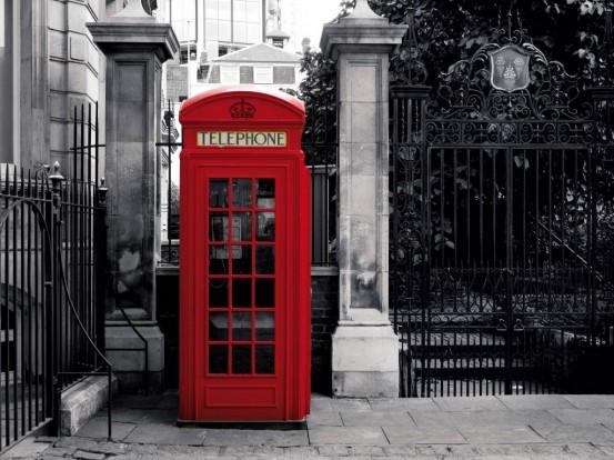 London Phone Fotobehang (Wallpaper)