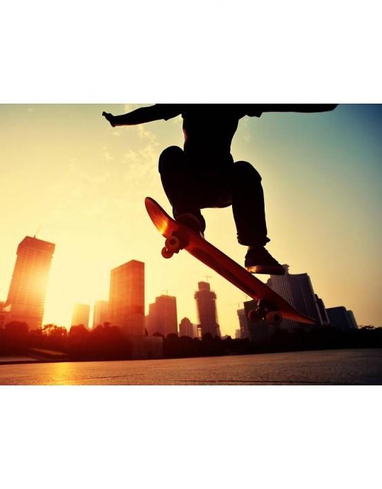 Fotobehang Skater 232 cm x 315 cm