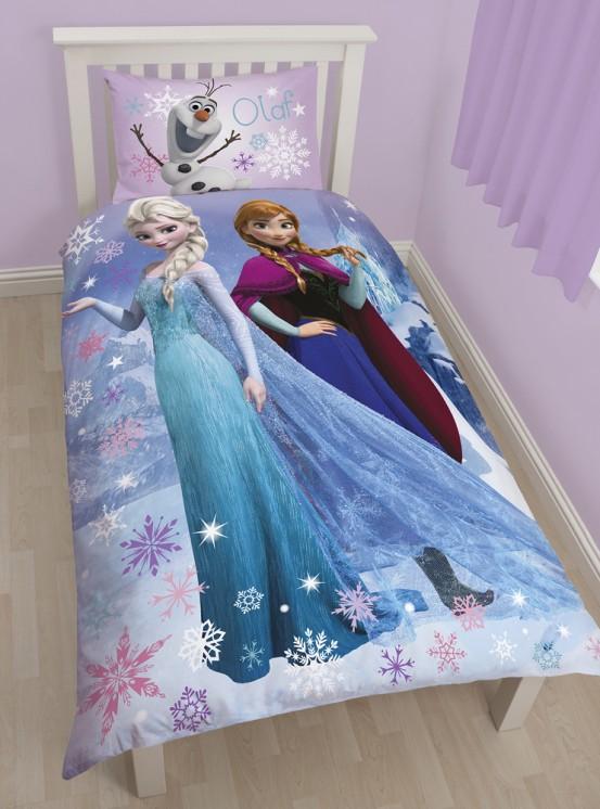Dekbedovertrek Frozen Elsa & Anna Singing