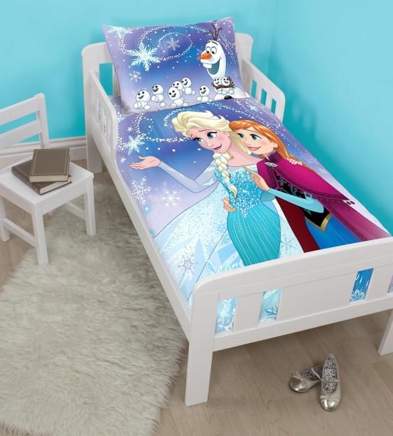 Frozen Junior Dekbed Anna & Elsa 120x150cm
