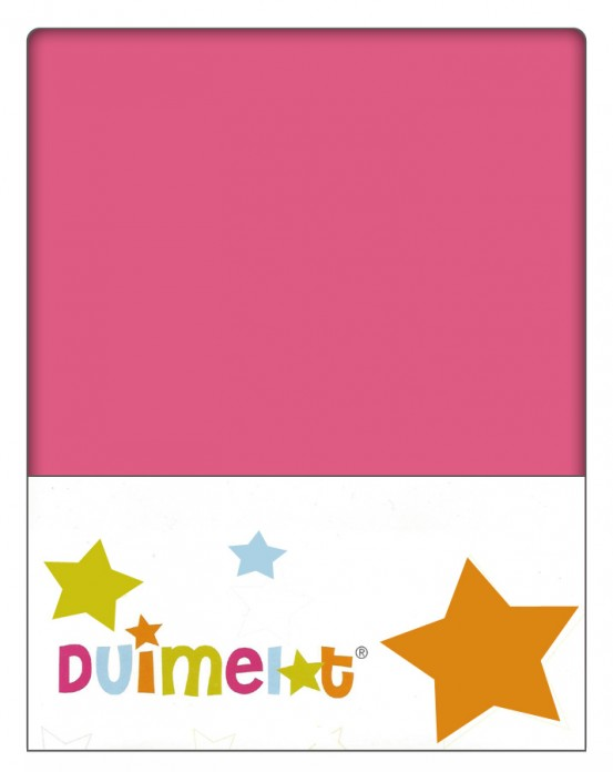 Duimelot Velours Hoeslaken Roze