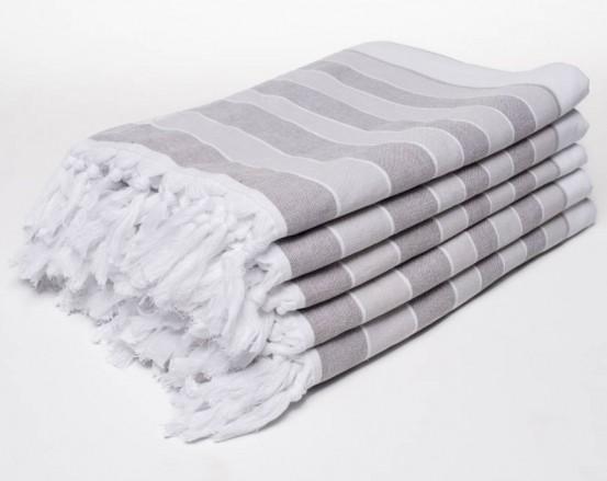 Hammam Towel Grijs 90x150cm