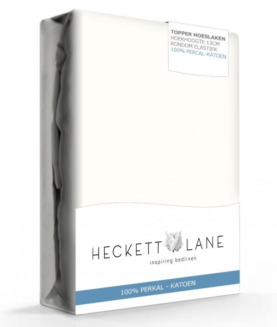 Heckett Lane Hoeslaken Topper Percal Off White