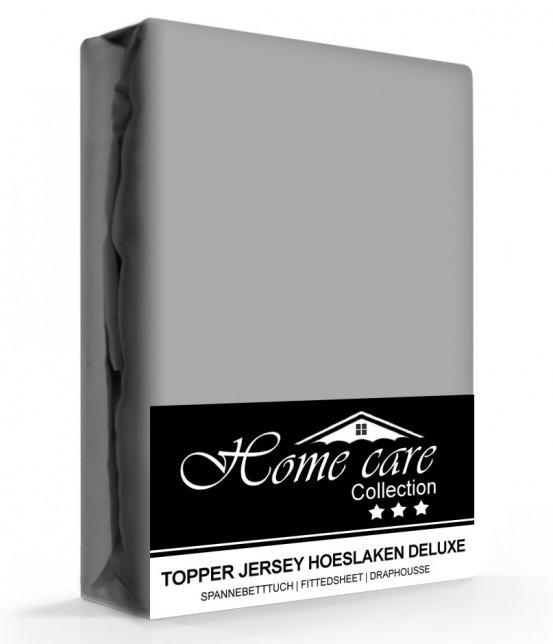 Homecare Jersey Topper Hoeslaken Grijs