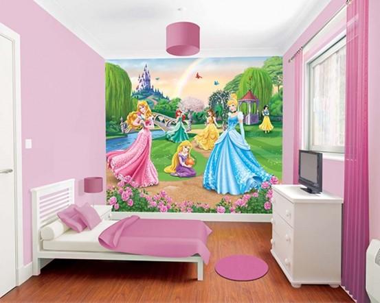 Disney Prinsessen Fotobehang (Walltastic)