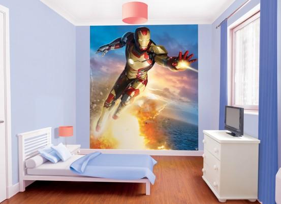 Iron Man Fotobehang (Walltastic)