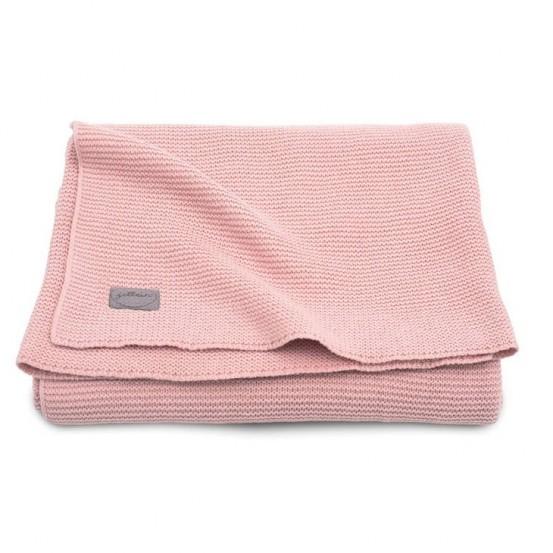 Jollein Deken 75x100cm Basic Knit Blush Pink