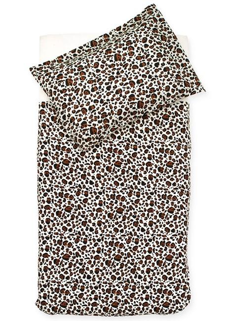 Jollein Overtrek Leopard Natural 100x140cm