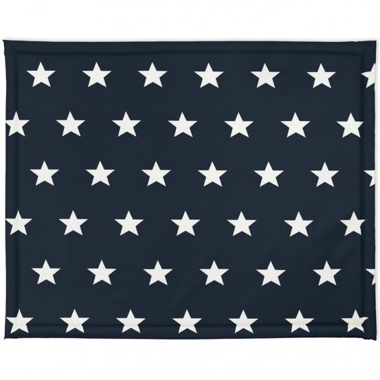 Jollein Boxdek 75x95cm Little Star Navy