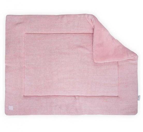 Jollein Boxkleed 80x100cm Melange knit soft pink