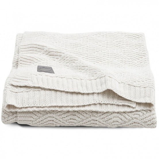 Jollein Deken 75x100cm River Knit Cream White
