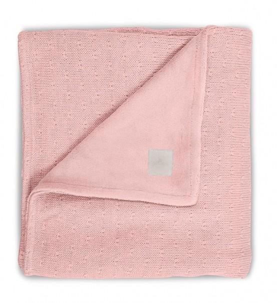 Jollein Deken Soft Knit Teddy 100x150cm Creamy Peach