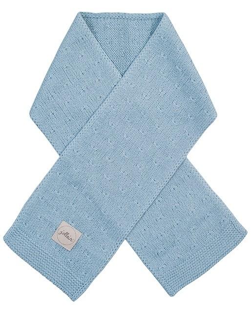 Jollein Sjaal Soft Knit Soft Blue