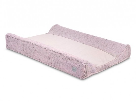 Jollein Waskussenhoes 50x70cm Confetti Knit Vintage Pink