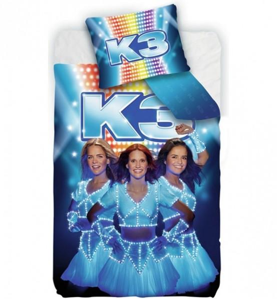 K3 Dekbedovertrek Blauw