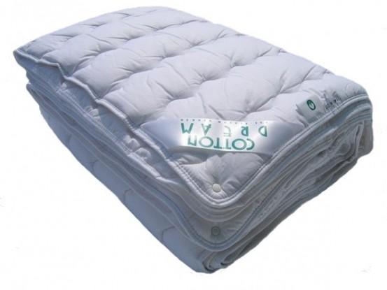 Zuiver Katoen Dekbed.4-Seizoenen 120x150cm (Wasbaar 90 graden C)
