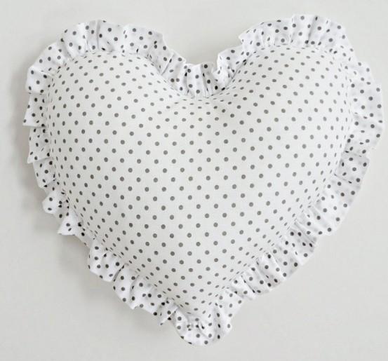 Kussen Hart Dolly Dots Groot