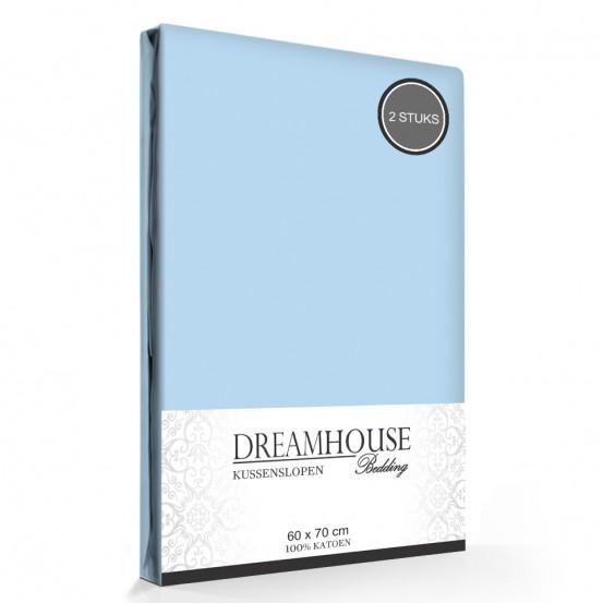 Kussenslopen Blauw Dreamhouse (2-stuks)