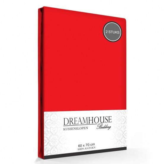 Kussenslopen Rood Dreamhouse (2-stuks)