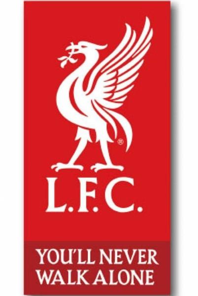 Liverpool FC Logo Strandlaken 70 x 140 cm