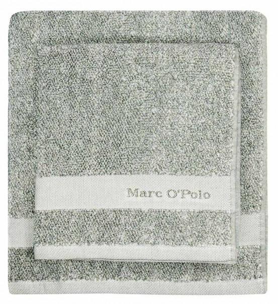 Marc O'Polo Melange Green & Off White
