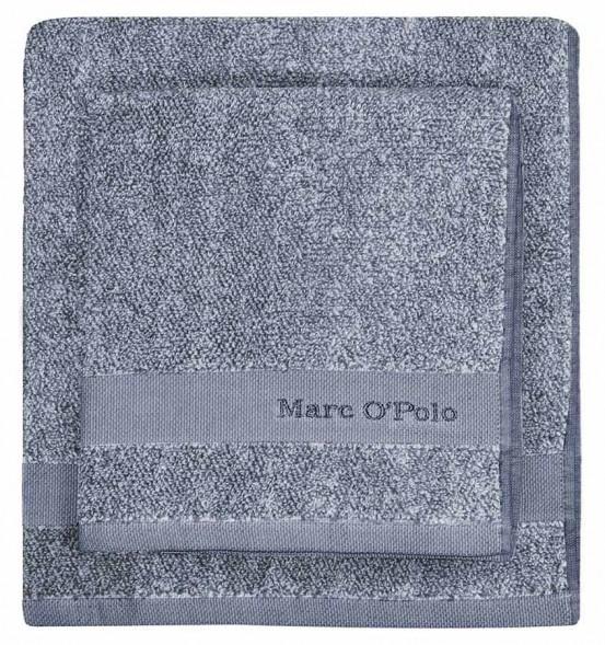 Marc O'Polo Melange Blue & Off White