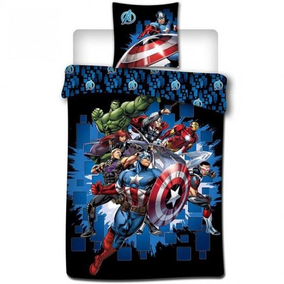 Dekbedovertrek Marvel Avengers Fight