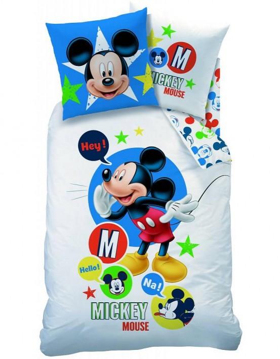 Dekbedovertrek Mickey Mouse Expressions
