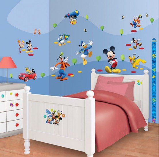 Mickey Mouse Muurstickers (Walltastic)