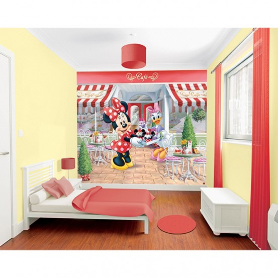 Disney Minnie Mouse Fotobehang (Walltastic)