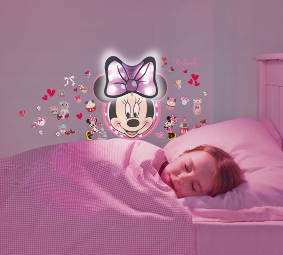 Minnie Mouse Glow in the Dark Sound Stickers