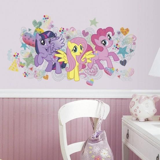 My Little Pony Muursticker (RoomMates)