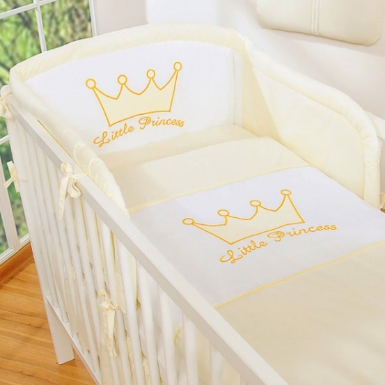 Bedomrander Little Prince/Princess Creme
