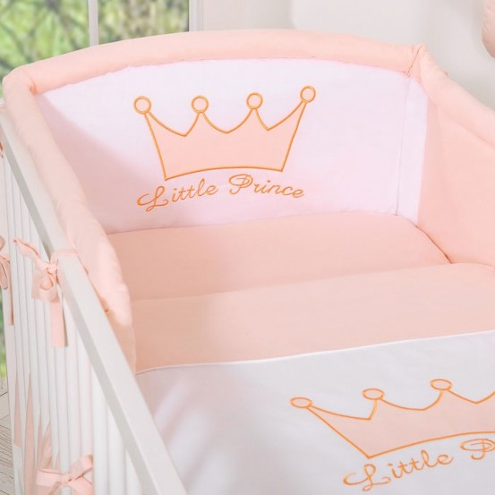 Bedomrander Little Prince/Princess Poeder Roze