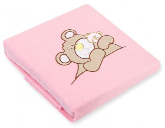 My Sweet Baby Deken 'Teddybeer' Roze