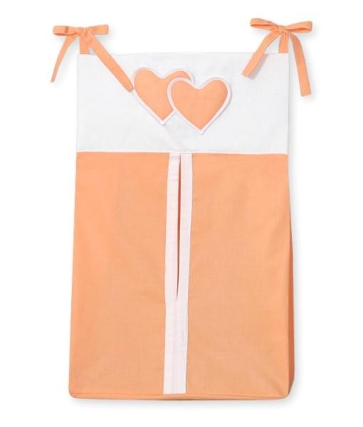 My Sweet Baby Luierzak Two Hearts Oranje